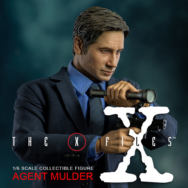 threezero X檔案 【穆德探員】The X-Files Agent Mulder 1/6 比例人偶作品