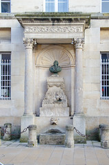Statue d'Edme Bouchardon - Photo of Villiers-le-Sec