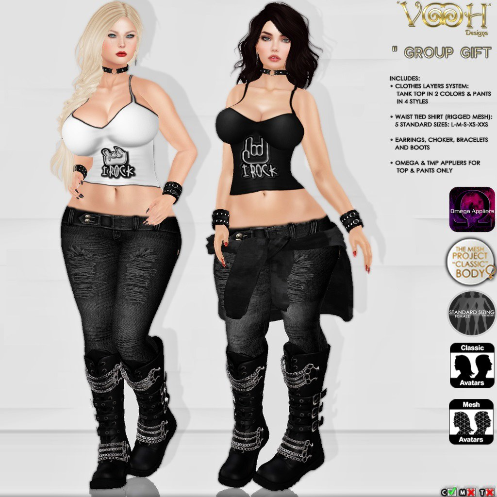 """ VOOH "" -  GROUP GIFT 63 - SecondLifeHub.com"
