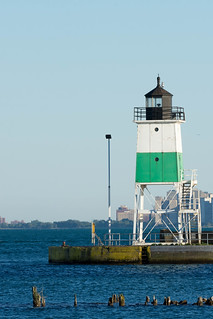 Chicago Trip - June 2017 - Chicago Harbor Southeast Guidewall Lighthouse