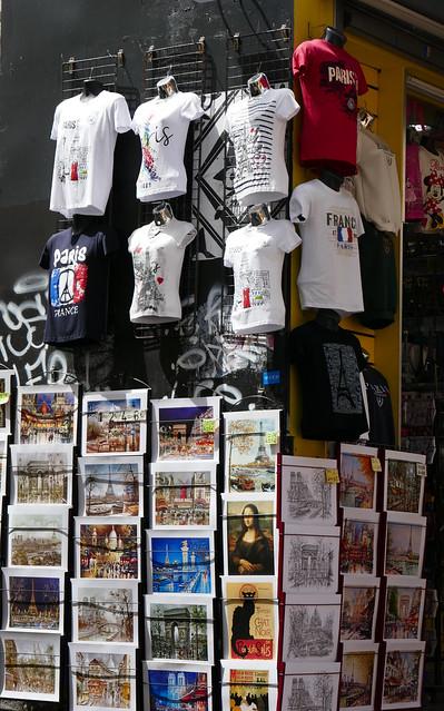 Tourist shop - Montmartre, Panasonic DMC-ZS100