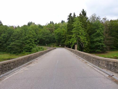 Le pont Saint-Nicolas à Chiny