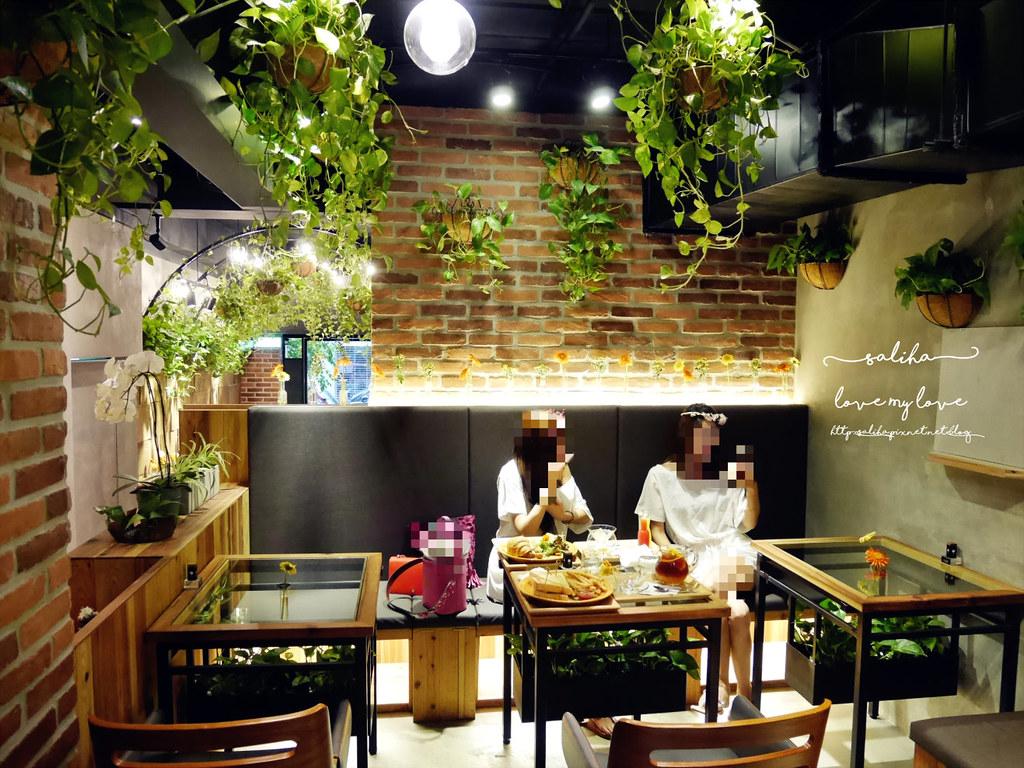 台北信義區花店咖啡館餐廳推薦FUJI FLOWER CAFE (1)