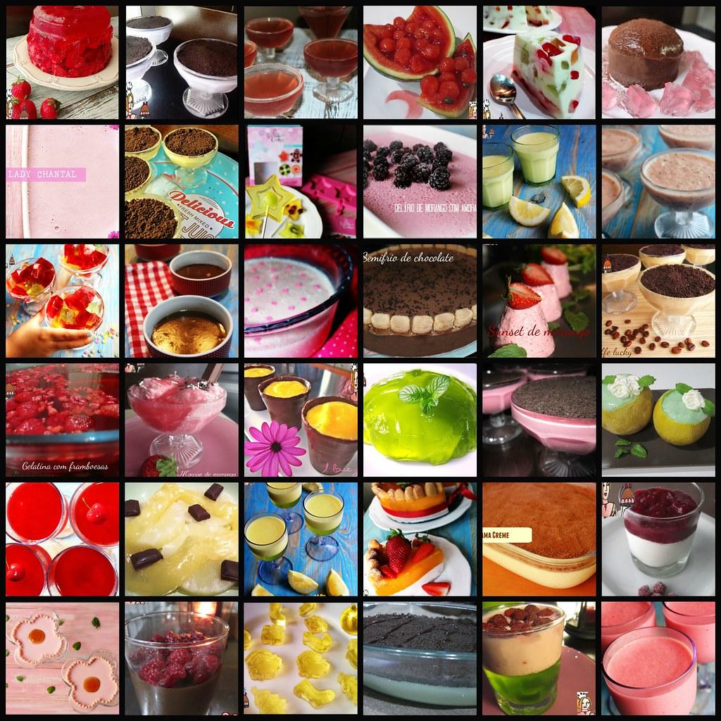 receitas de gelatina