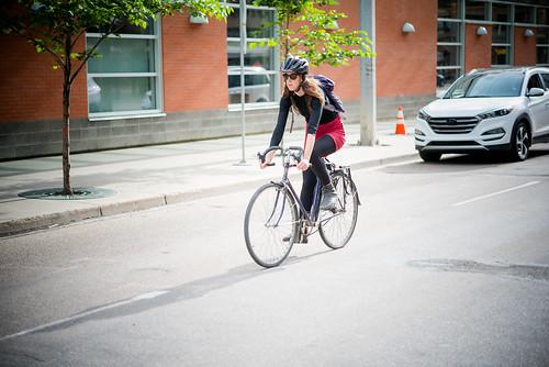 102 Ave Cyclist