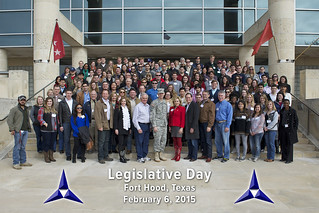 Legislative Tour Photo 2015 (With Caltrop)