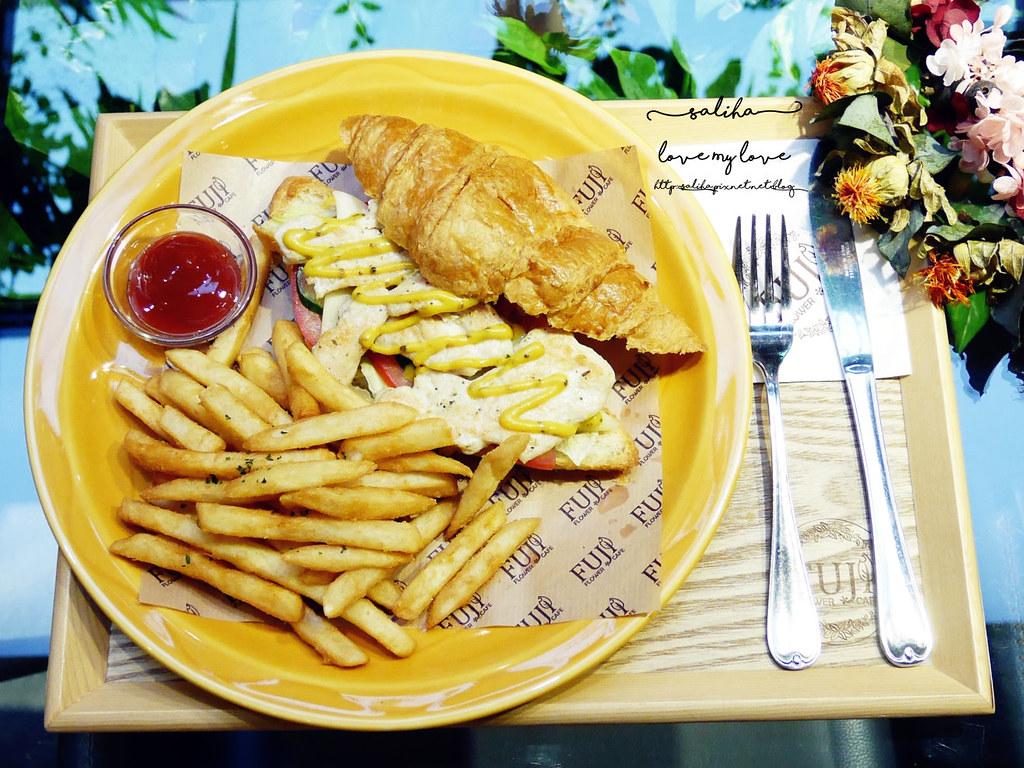 台北信義區花店咖啡館餐廳推薦FUJI FLOWER CAFE (15)