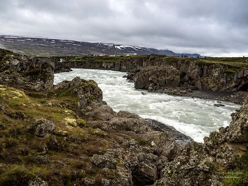 Goðafoss (Wasserfall der Götter)