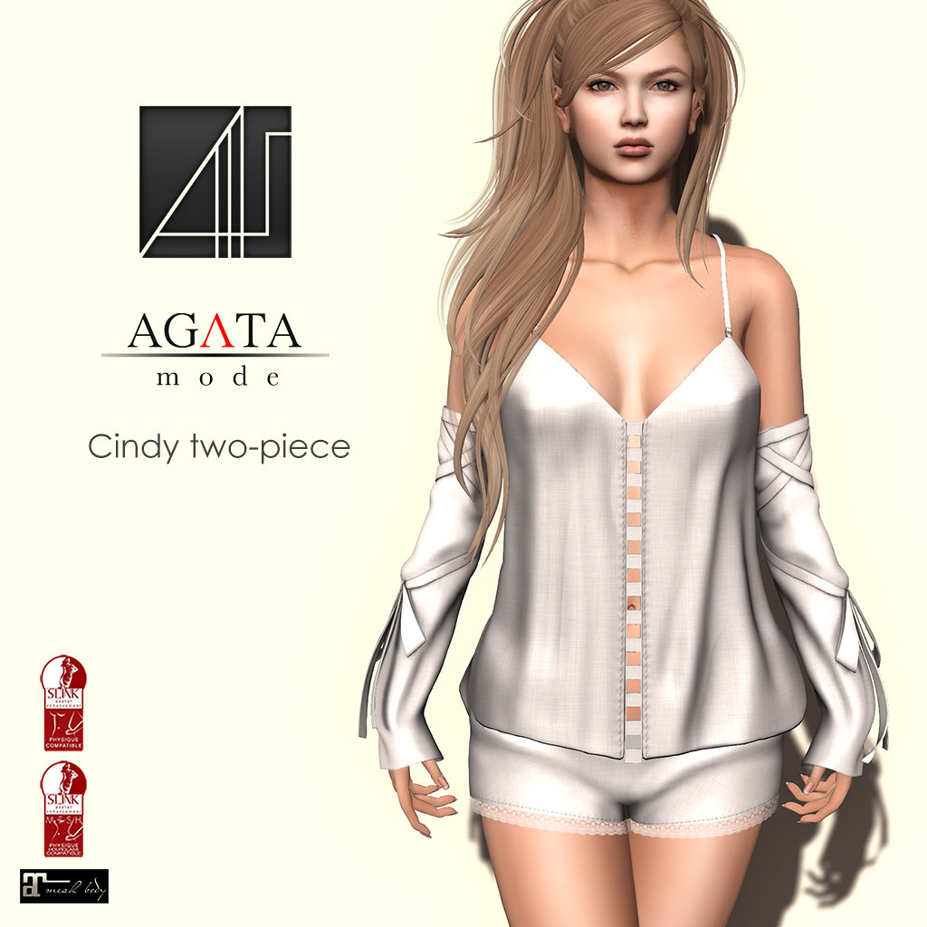 Cindy two-piece @ Shiny Shabby - SecondLifeHub.com