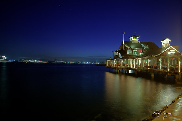 San Diego Pier Cafe [HDR]