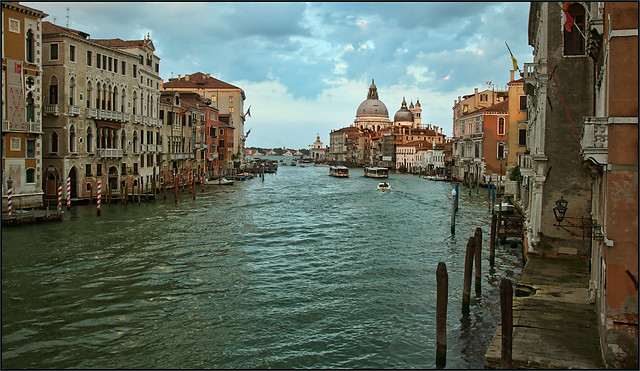 Venice / Evening at Canal Grande