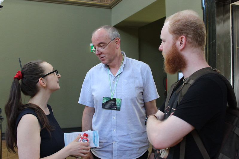Maren Kießling (speaker), Thomas Knebel & Daniel Wachsmuth