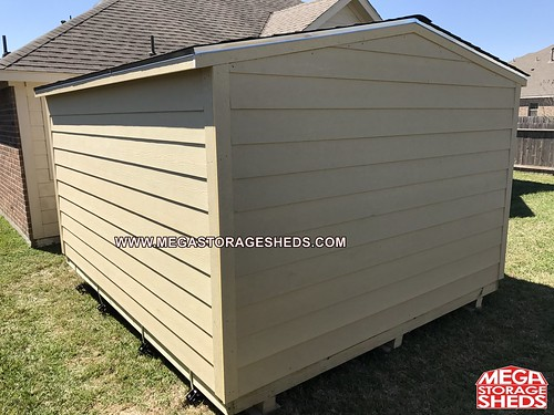 Mega storage sheds ranch cabins for Garage door repair dickinson tx