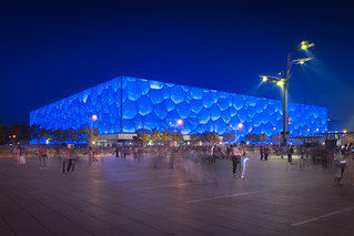 Water Cube & Blue Hour