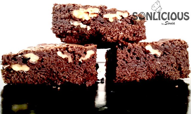 American Walnut Brownie Texture