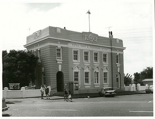 Patea Post Office on the corner of Main Road, Patea