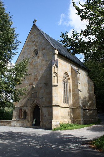 Liboriuskapelle an der Alten Werrabrücke in Creuzburg
