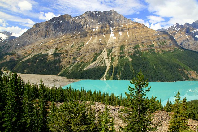 All the colors of Canadian Rocky Mountains