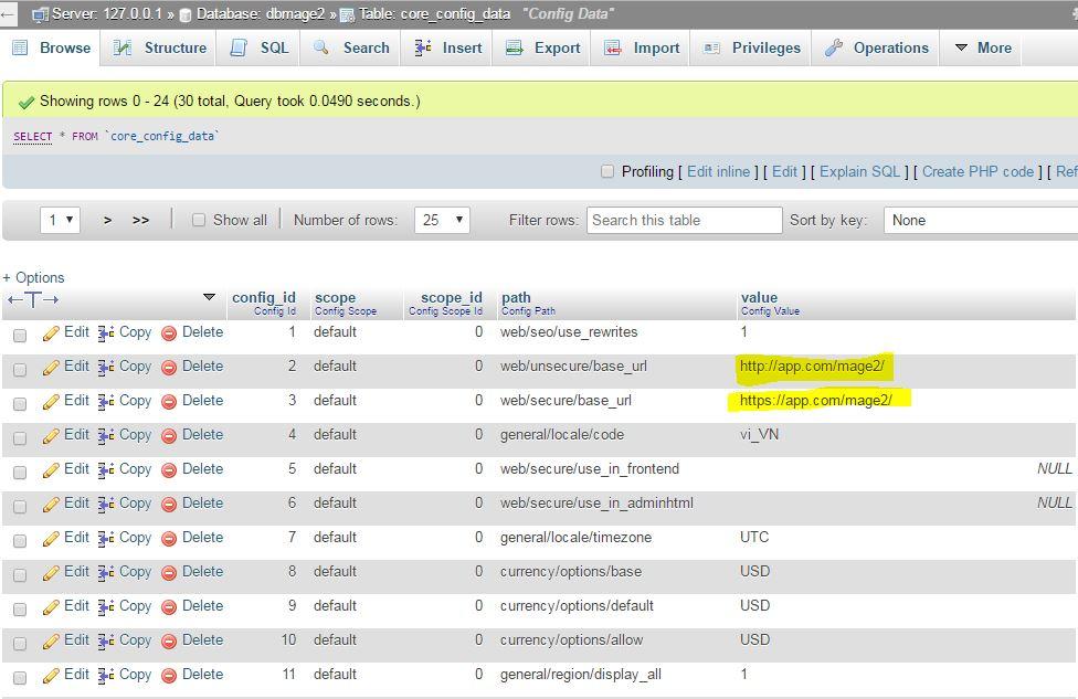 Move site Magento 2 từ Localhost lên Hosting