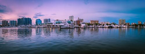 boats marinajacks sarasota sonyalpha bayfrontpark cityscape florida reflections unitedstates
