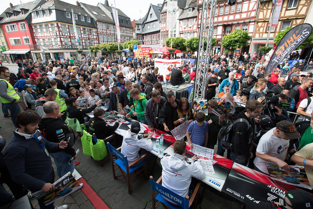ambiance autograph session during the 2017 FIA WTCC World Touring Car Race of Nurburgring, Germany from May 26 to 28 - Photo Antonin Vincent / DPPI