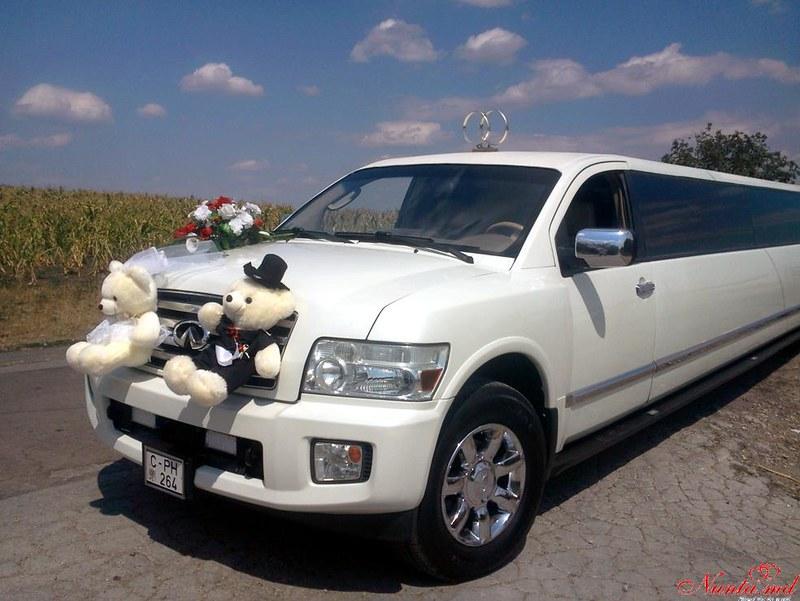 """Прокат лимузинов в Молдове от """"Elitelimo"""" > Infiniti QX-56 2008"""