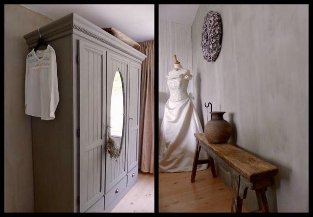 Kast trouwjurk slaapkamer
