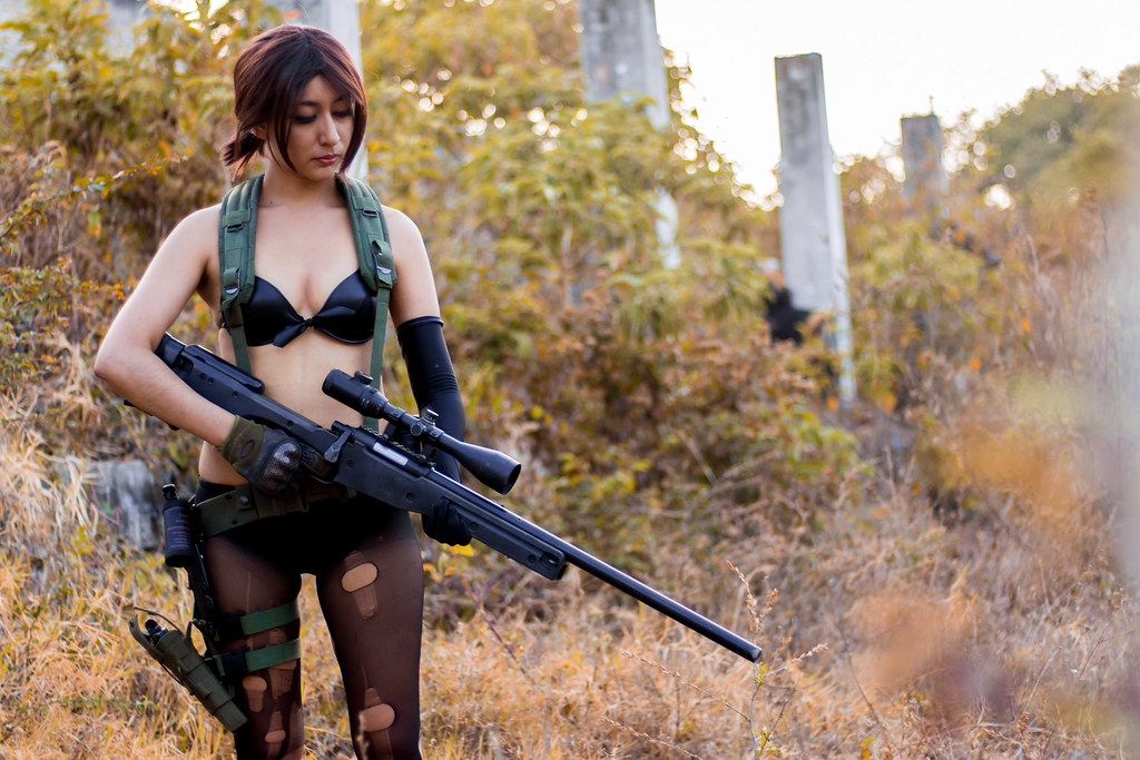Quiet Mgsv Iv Cosplay Yuna Giovanni Raya Flickr