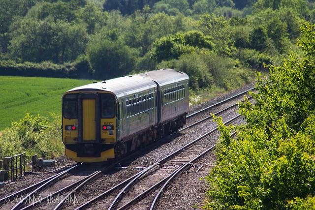 Green Train in Green, Canon EOS 1200D, Tamron AF 70-300mm f/4-5.6 Di LD 1:2 Macro