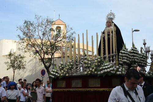 Procesión de Nuestra Señora de las Angustias