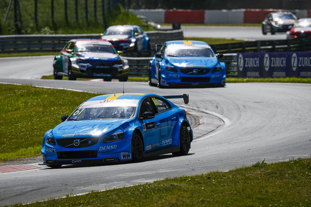 61 GIROLAMI Nestor (arg), Volvo S60 Polestar team Polestar Cyan Racing, 62 BJORK Thed (swe), Volvo S60 Polestar team Polestar Cyan Racing, action during the 2017 FIA WTCC World Touring Car Race of Nurburgring, Germany from May 26 to 28 - Photo Florent Gooden / DPPI