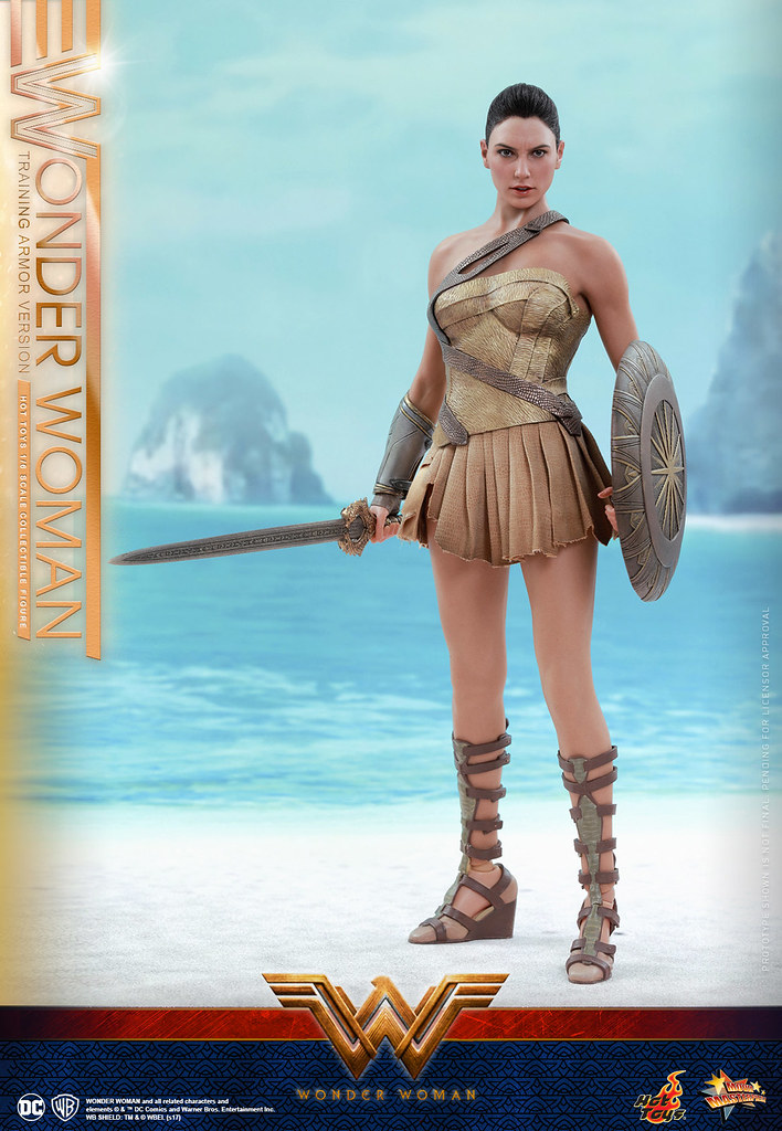 Hot Toys – MMS424 - 【神力女超人】 1/6 比例人偶作品  Wonder Woman  (Training Armor Version)