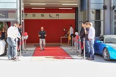 17.08.13: 1. Auslieferungen Model S