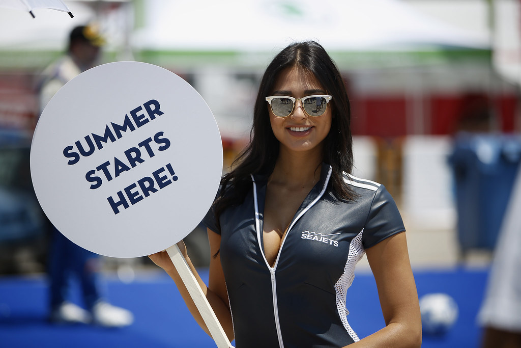 SEAJETS girl ambiance during the European Rally Championship 2017 - Acropolis Rally Of Grece - From June 2 to 4 - Photo Thomas Fenêtre / DPPI