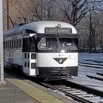 US NJ Newark City Subway PCC 10 @ Franklin Ave. Station