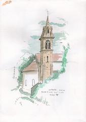 La Frette - clocher de l'église Saint Ours du XV° siècle, à l'intérieur des peinture sont classées , http://www.lafrette.fr/informations/la-patrimoine/ - Photo of Saint-Didier-de-Bizonnes