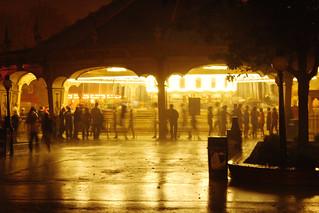Rainy Carousel