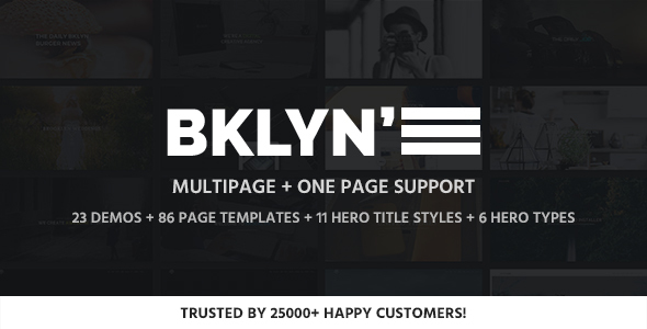 Brooklyn v4.4.4 – Responsive Multi-Purpose WordPress Theme