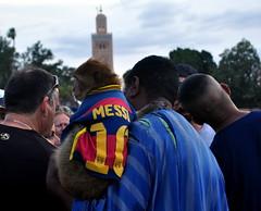 Messi na Praça