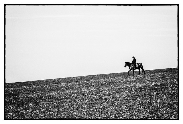 Lone Rider, Canon EOS 7D, Sigma 150mm f/2.8 EX DG OS HSM APO Macro