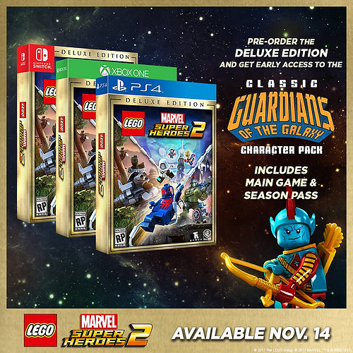 Lego Marvel Super Heroes 2 Deluxe Edition + Giant-Man