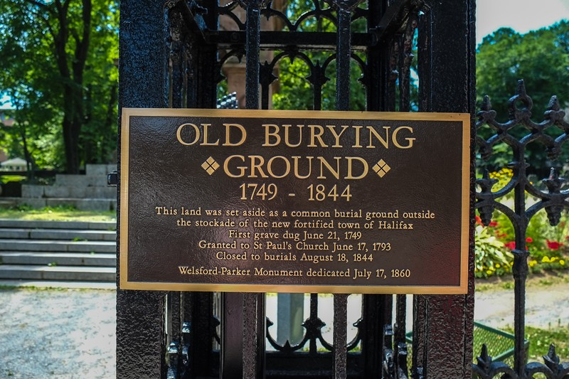Old Burial Ground, Halifax, Nova Scotia