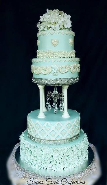 Cake by Tina Mastalski-Balsamo of Sugar Creek Confections and more