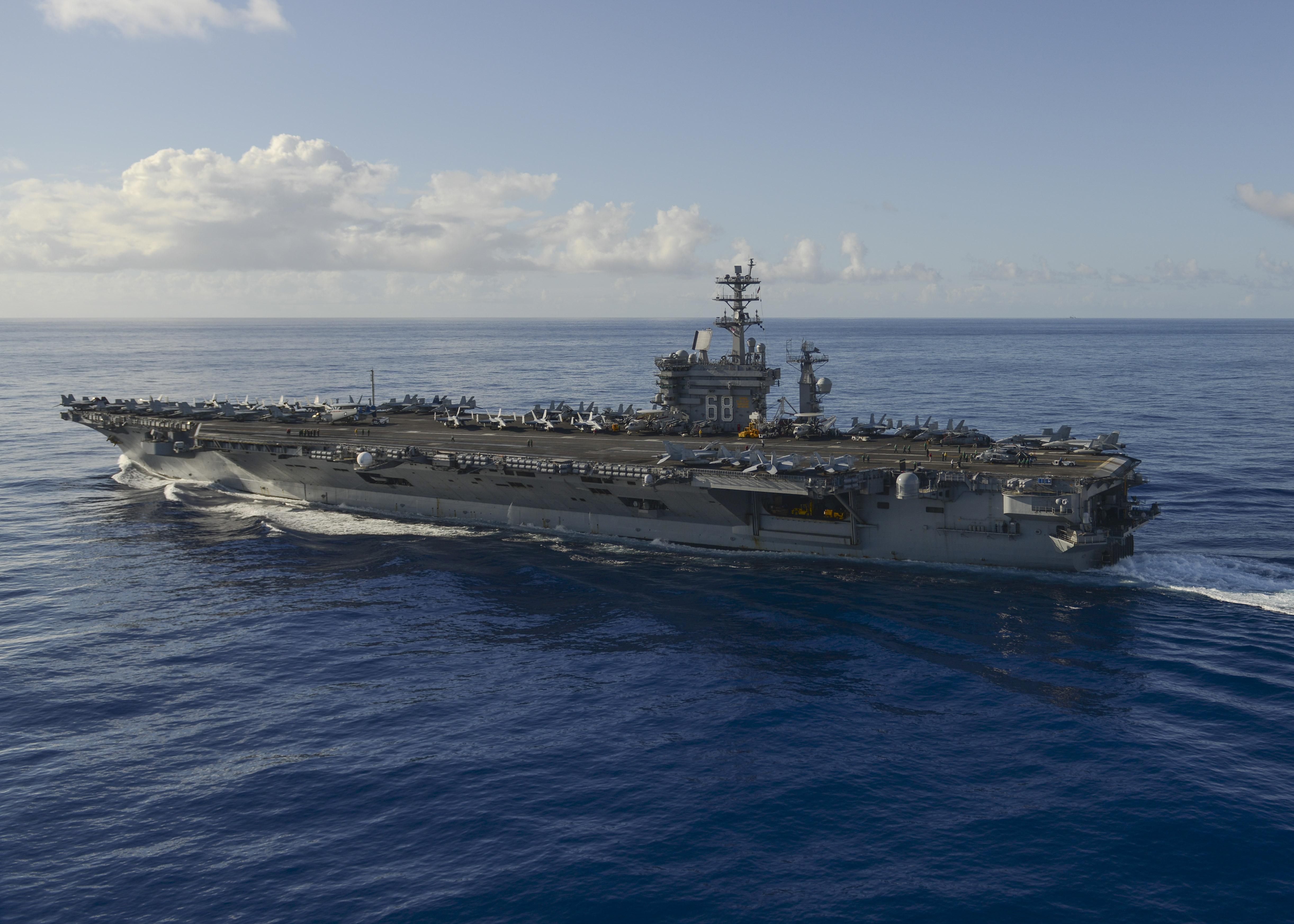 Nimitz Carrier Strike Group arrives in 7th Fleet ...