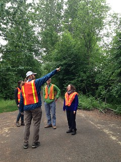 RTCA practices conducting a walking audit