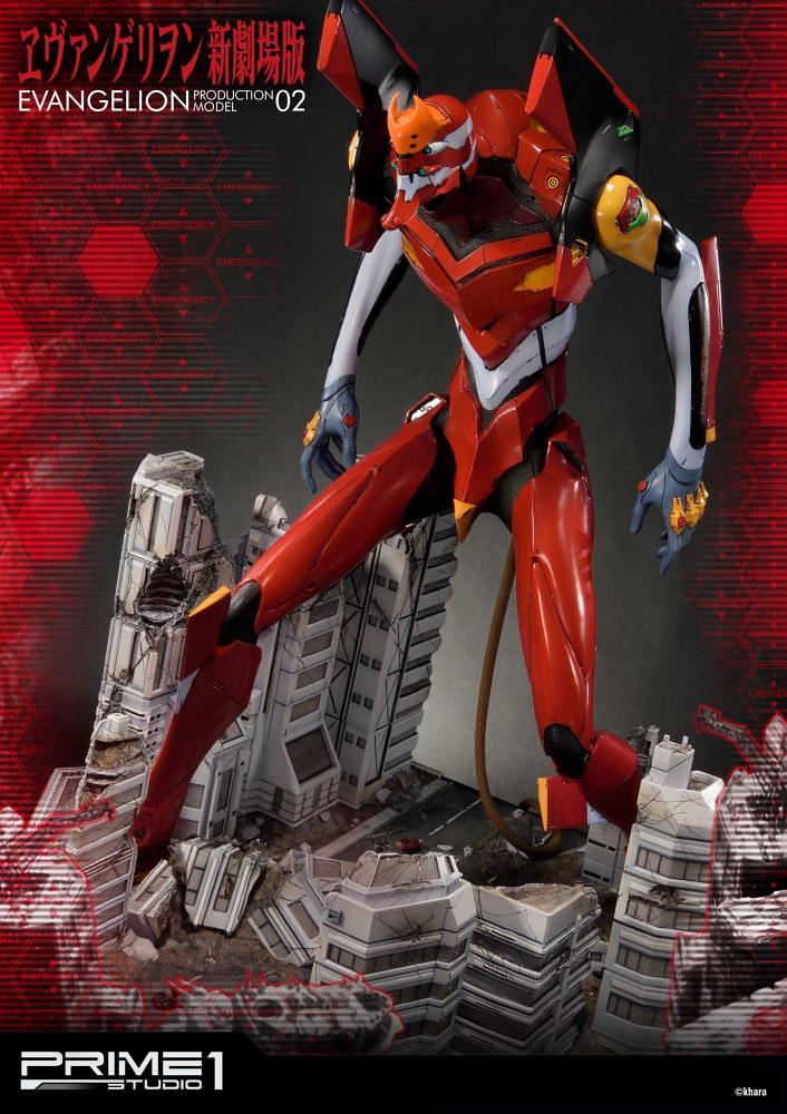 Prime 1 Studio《新世纪福音戰士》新劇場版 貳號機 ヱヴァンゲリヲン新劇場版 汎用ヒト型決戦兵器 人造人間 エヴァンゲリオン正規実用型 2号機 EX版