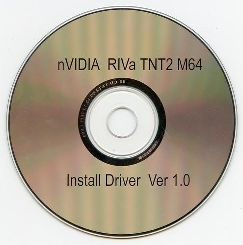 Nvidia Riva TNT2 MG4 - Install Driver Ver 1.0