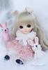 Little Bunny   Lati Yellow Suji in Princess Bonetta Dress