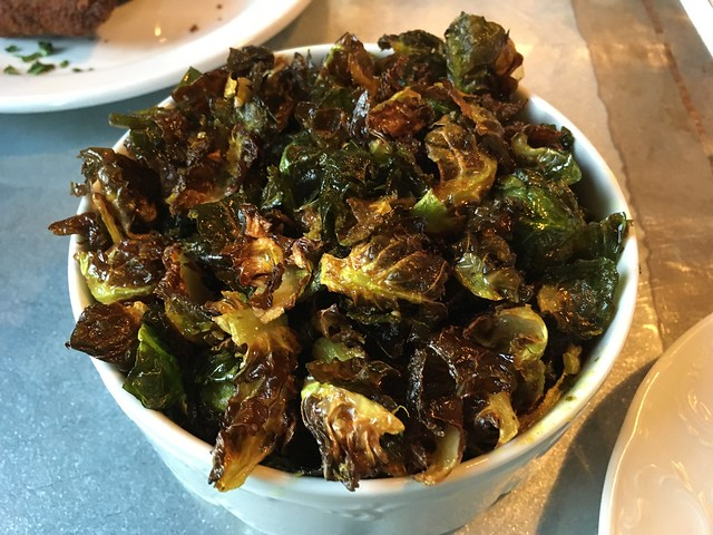 Crispy brussels sprout chips - The Cavalier