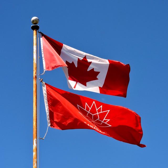 Canadian flag; Canada 150 flag, Nikon COOLPIX P530